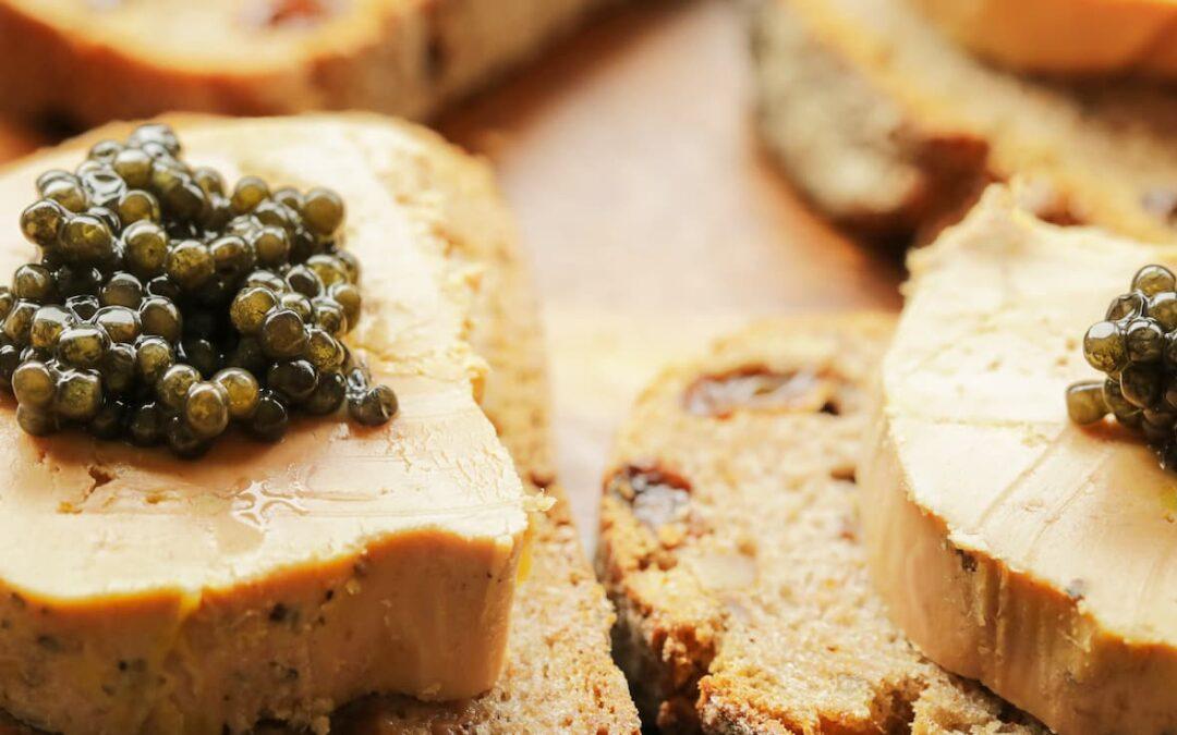 Caviar and Foie Gras: A perfect match