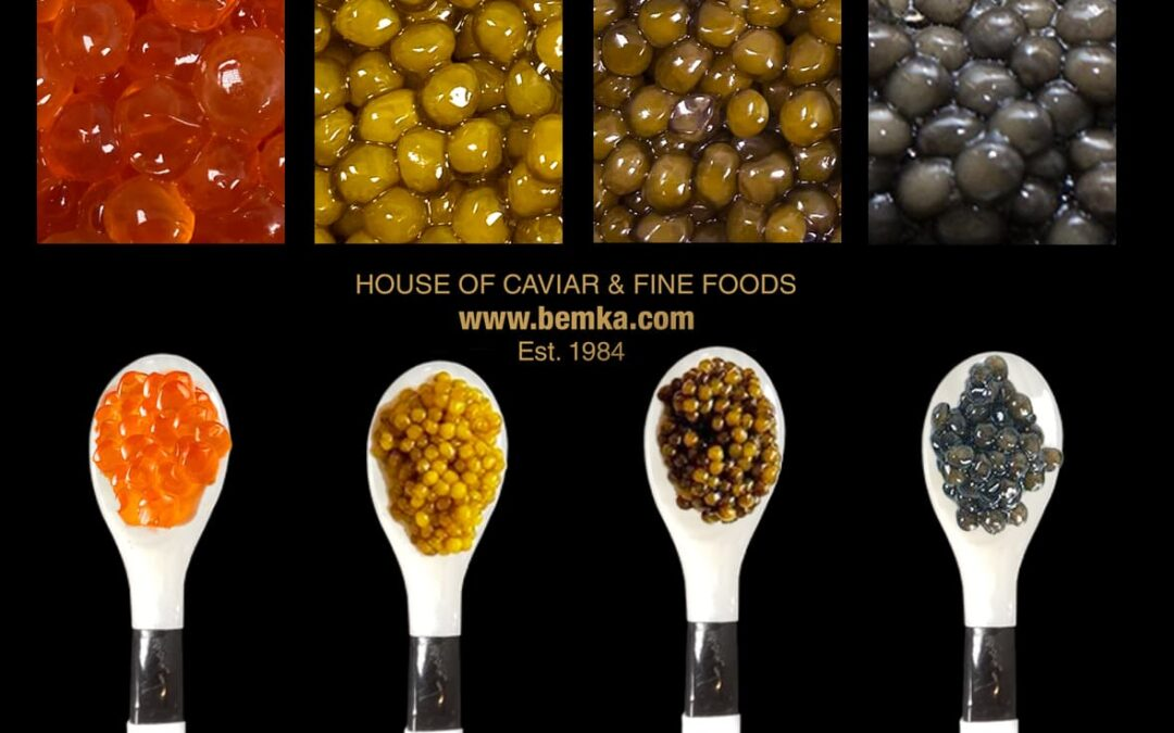The best types of Caviar to try