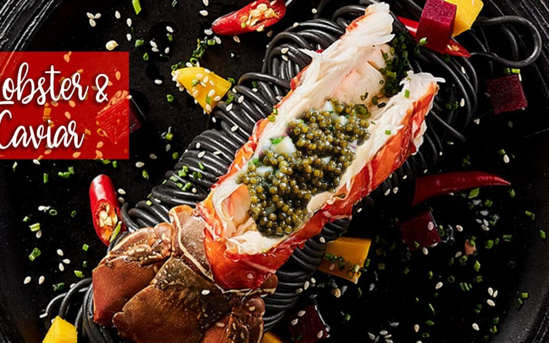 Recipes with Lobster and Caviar