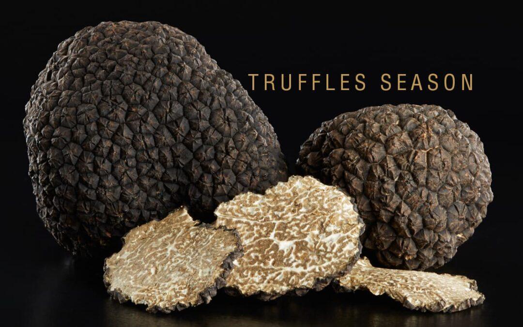 Truffle Season: two recipes to enjoy it with Caviar