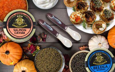 Trick or Treat: Caviar recipes for Halloween